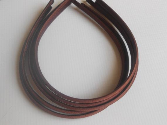 Brown Satin Covered Headbands Wholesale Headbandsbaby