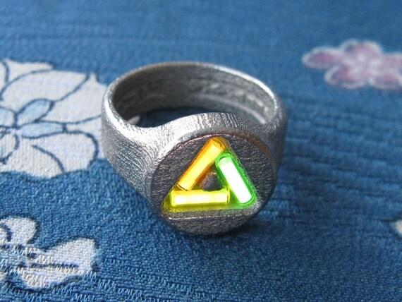 Ring XXIII Stainless SteelTritium US775