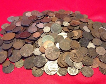 Old World Coins // 1700s/1800s // A Part of History! // 1 COIN