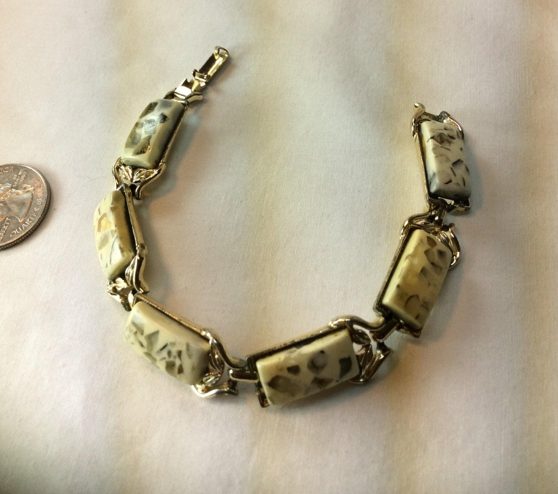 vintage coro colored bracelet