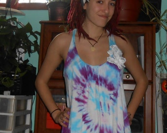 Up-Cycled Tie Dye Shirt