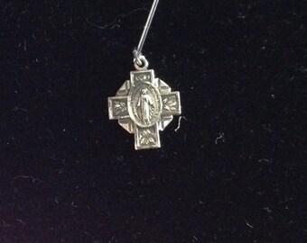 Religious Medallion Pendant