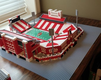 Oklahoma Sooner's Gaylord Family Memorial Stadium, Brick model