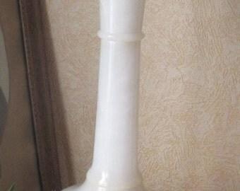 Vintage Alabaster White Large Vase Spain Alabastros de Sarreal