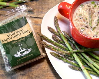 Wild Rice Asparagus Soup Mix