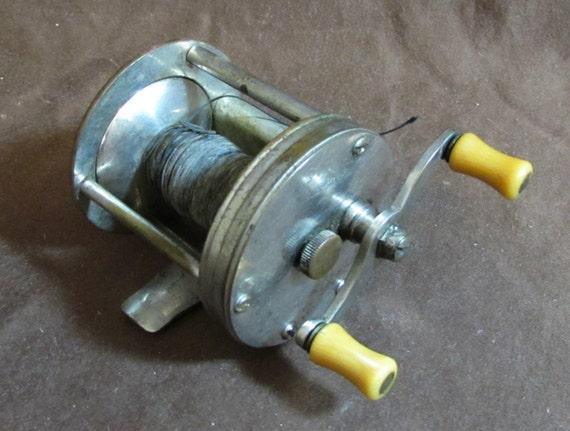 Fishing reel vintage wind rite usa stainless steel for Reel steel fishing