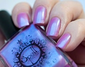 "SPELL Polish pink indie nail laquer ~My Heart Keeps Skipping~ ""It Was Written in the Stars""!"