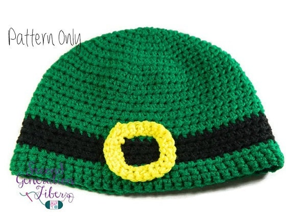 Crochet Pattern Leprechaun Hat : Leprechaun hat crochet pattern leprechaun hat pattern