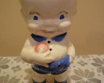 Antique Porcelain Figurine/Old Figurine/Handmade/Collectible