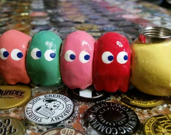 Pacman Ghosts Arcade Smoking Pipe