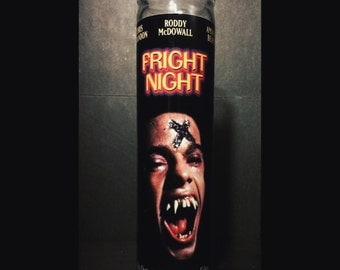 Fright Night Evil Ed Horror Prayer Candle
