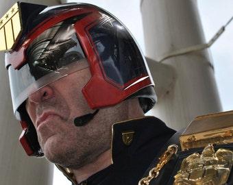 HQ - Finished Judge Dredd Helmet 1995 Stallone