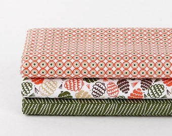 Pine - Quarter Fabric Pack 3 Fabric 1 set - Sets for 3 each 45 X 55 cm