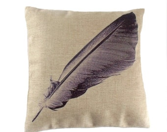 Floating feather cushion