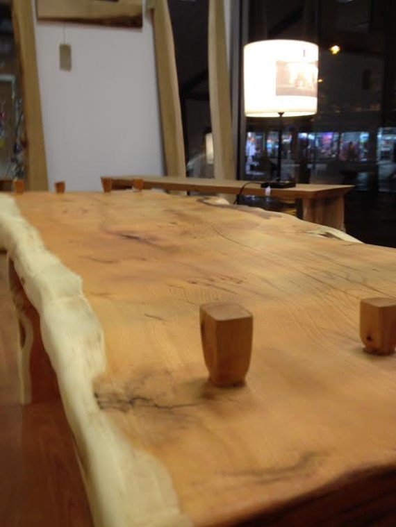 Handmade Scottish Yew Coffee Table