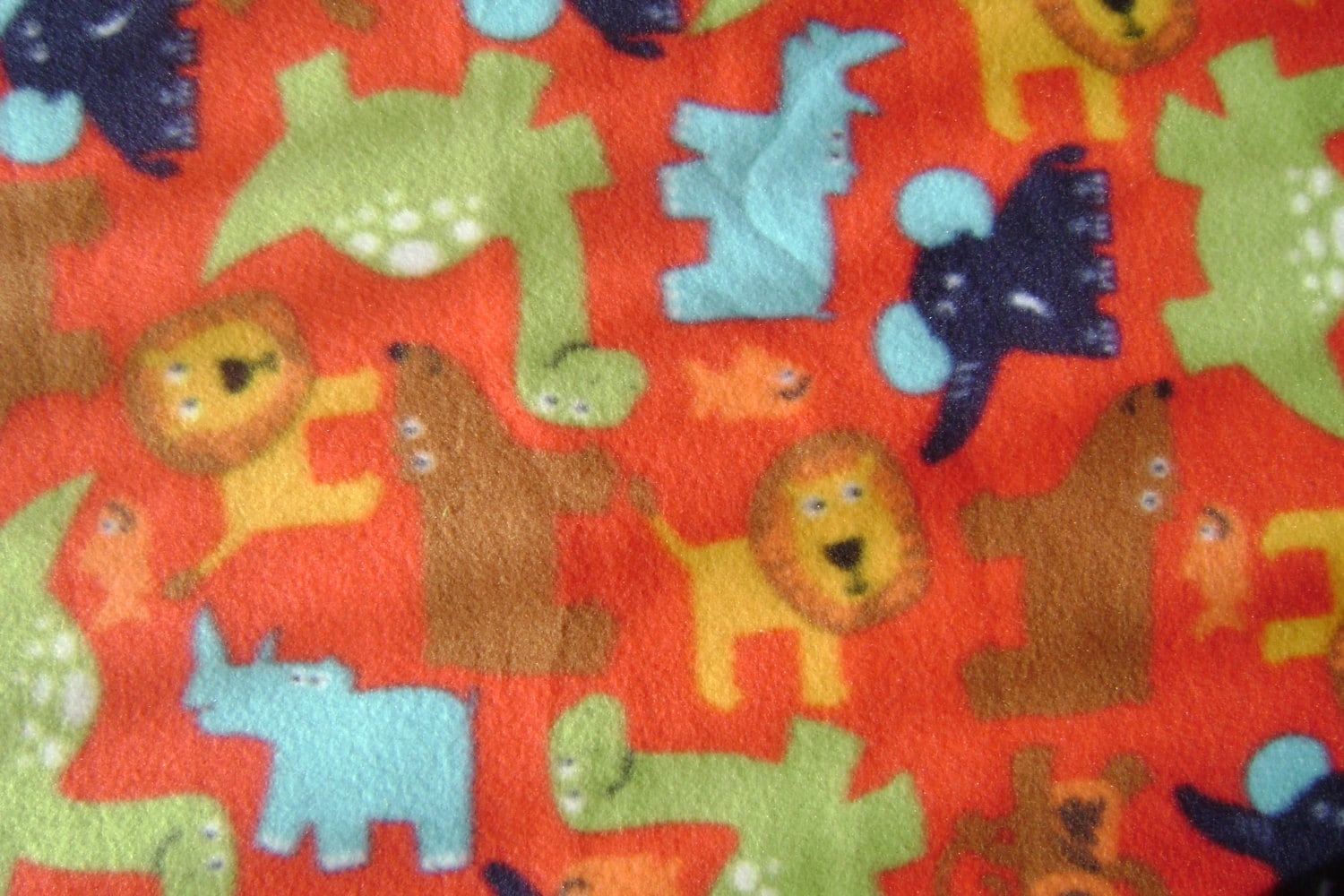 cute animal fleece fabric by the yard. Black Bedroom Furniture Sets. Home Design Ideas