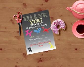 DIGITAL Magic Thank You | Magic Party Thank You | Birthday Party Thank You | Thank You Card | Magic Thank You Card