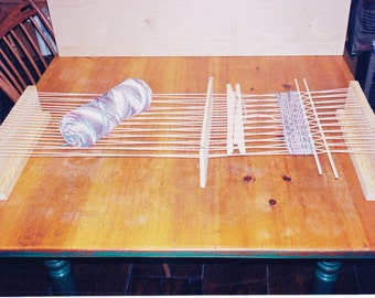 "Table Loom by WEAVABLES  12"" Weaving Table Loom"
