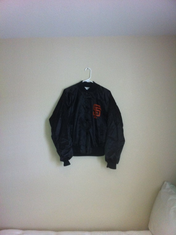 Vintage San Francisco Giants Chalkline Satin Jacket