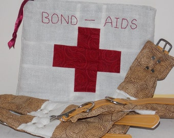 Bond-Aids - Band-Aid Shaped Restraint Set with Storage Bag for Littles