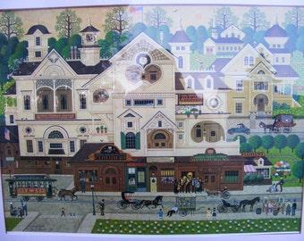 Charles Wysocki  Derby Square limited edition print