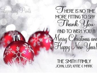 Christmas Card/Thank You