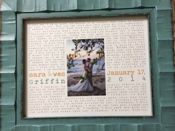 vows first anniversary gift paper gift wedding song lyrics printed