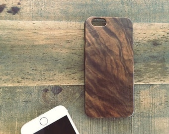 iPhone 6 Walnut Wood Case