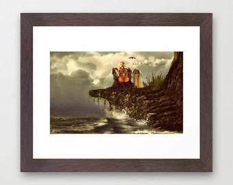 Fine Art - Fine Art Print   Love   Poster- Art Print - Wall Art  Giclee Print