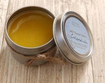Calendula Salve All Natural, herbal salve, diaper rash ointment