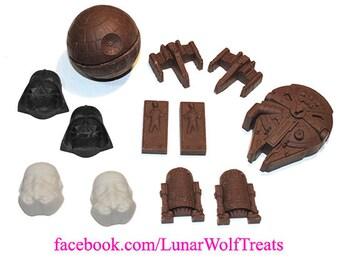 Full Chocolate Star Wars Set