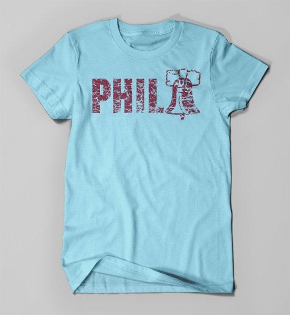 Phila Vintage Distressed Tee Philadelphia Tee By Wearpurdy