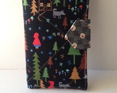 Cash Wallet - Dave Ramsey inspired - Little Red Riding Hood