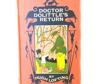 Doctor Dolittle's Return by Hugh Lofting, Vintage Classic Doctor Dolittle Novel