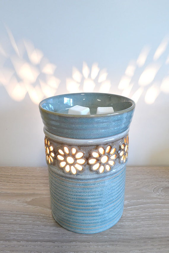 Ceramic Candle Warmer ~ Electric ceramic fragrance candle warmer lamp by motiphdesign