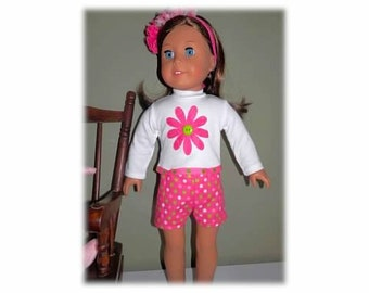 American Girl two piece outfit