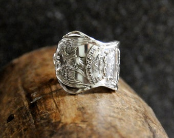 colorado ring, spoon ring, eagle ring, american ring