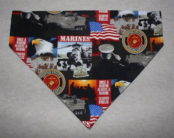 United States Marines Dog Bandanna in Small, Medium & Large