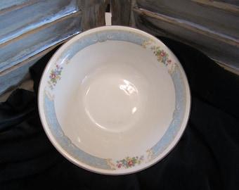Edwin M. Knowles  China Company Serving Bowl  Semi Vitreous