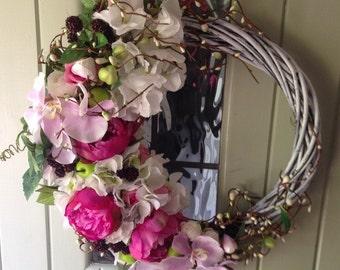 Everlasting Summer Door Wreath