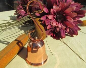 Vintage Coppercraft Guild  solid copper Dinner  Bell