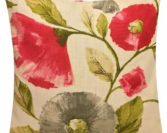 Harlequin Lisanne Impasto Fuchsia & Slate Cushion Cover