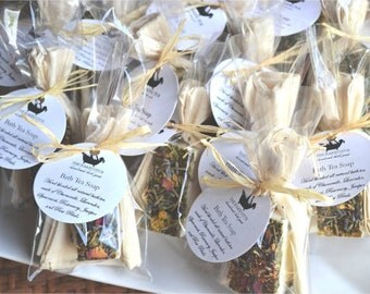 Rustic Wedding Favor -  Bridal Shower Favors, Tea Party Favors, Baby Shower Favors