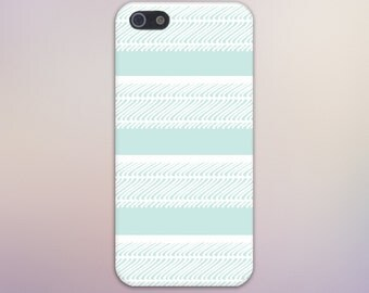 Pastel Teal x White Waves Design Case for iPhone 6 6 Plus iPhone 7  Samsung Galaxy s8 edge s6 and Note 5  S8 Plus Phone Case, Google Pixel