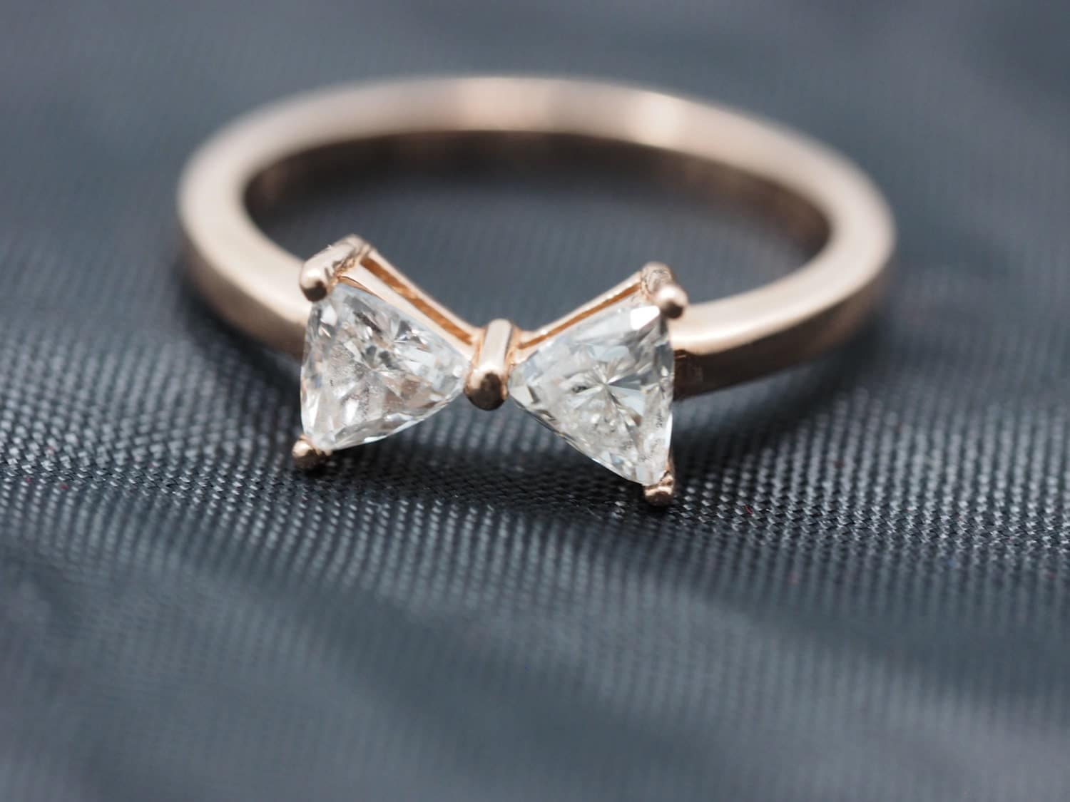 14k Rose Gold Diamond Bowtie Ring Rose Gold Bow Tie Ring. Nice Rings. Tolkowsky Engagement Rings. The Natural Sapphire Company Wedding Rings. Chrome Engagement Rings. Vintage Style Rings. Parade Rings. Ct Radiant Diamond Engagement Rings. Indian Rings
