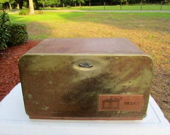 Vintage Mid Century BEAUTY BOX Bread Box or Storage Box