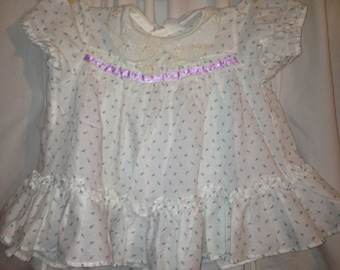Baby girls vintage dress