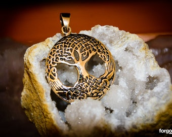 Tree of Life Pendant - Gypsy Gold