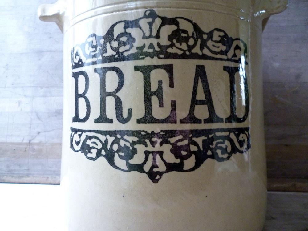 Bread Bin Moira Farmhouse Stoneware Glazed Stoneware Moira