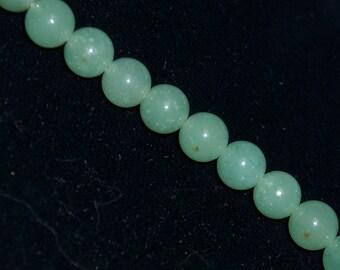 6mm Green Adventurine Stone Beads